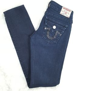 True Religion Straight Leg Jeans Size 24